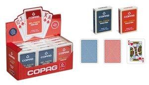 Philos 6715 - Poker & Bridge, blau oder rot, sortiert, 1 Kartens