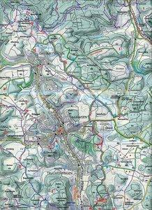 KuF Deutschland Outdoorkarte 41 Schwäbische Alb Hohenzollern 1:3
