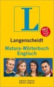 Langenscheidt Matura-Wtb. Englisch