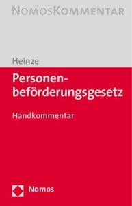 Personenbeförderungsgesetz (PBefG)