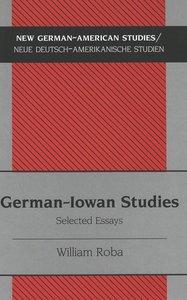 German-Iowan Studies