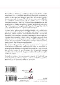 Über den Klang aufgeklärter Frömmigkeit. Retrospektive und Progr
