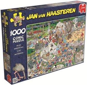 Jumbo Spiele 01491 - Jan van Haasteren: Im Zoo, 1000 Teile