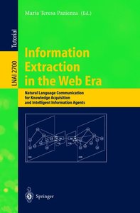 Information Extraction in the Web Era