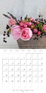 Rose Impressions 2015 (Wall Calendar 2015 300 × 300 mm Square)