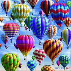 3D Magna Puzzle Heißluftballon 64 Teile