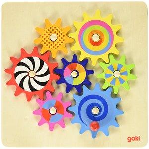 Goki 58530 - Zahnradspiel, 8-teilig