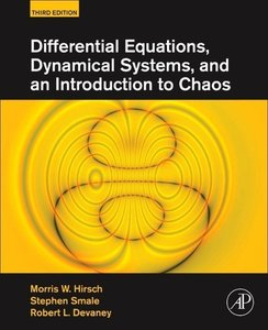 Differential Equations, Dynamical Systems, and an Introduction t