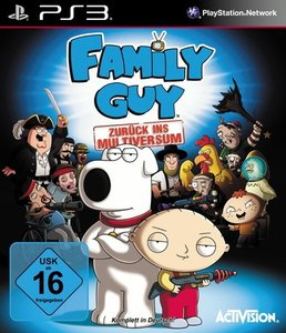 Family Guy. zurück ins Multiversum Playstation PS3