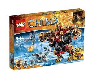 LEGO Legends of Chima 70225 - Bladvics Grollbär