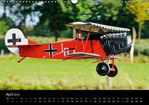 Scale Planes / UK-Version (Wall Calendar 2015 DIN A3 Landscape)