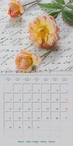 Sentimental Memories (Wall Calendar 2016 300 × 300 mm Square)
