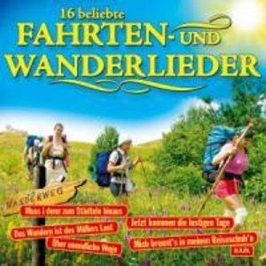 16 beliebte Fahrten-und Wanderlieder