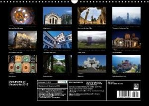 Monuments of Macedonia 2015 (Wall Calendar 2015 DIN A3 Landscape