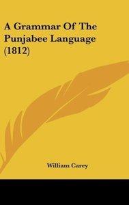 A Grammar Of The Punjabee Language (1812)