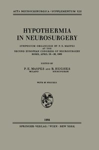 Hypothermia in Neurosurgery