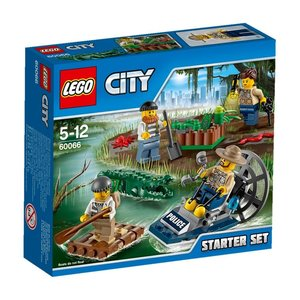 LEGO 60066 - City: Sumpfpolizei Starter-Set