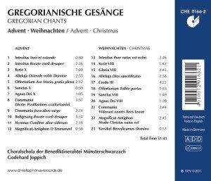 Gregorianische Gesänge Zu Advent Und Wei
