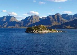 Mit dem Postschiff entlang der norwegischen Küste (Posterbuch DI