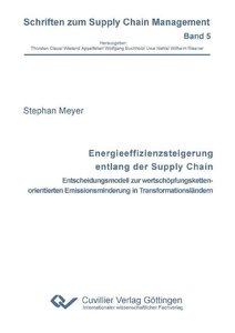 Energieeffizienzsteigerung entlang der Supply Chain