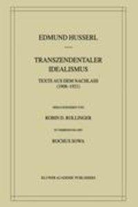 Transzendentaler Idealismus