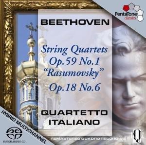 Streichquartette op.59 1+op.18 6