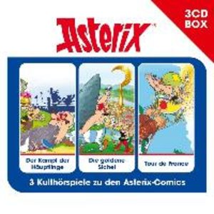 Asterix - 3-CD Hörspielbox Vol. 2