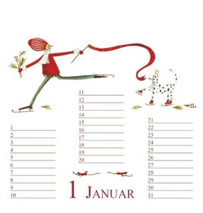 Geburtstags-Kalender Motiv Geburtstagsgäste