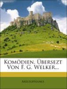 Komödien von Aristophanes: Die Frösche.