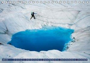 Alaska: Schneeberge und Meer (Tischkalender 2016 DIN A5 quer)