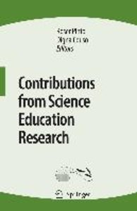Contributions from Science Education Research