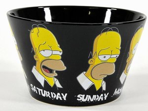 Unitedlabels 0199416 - Müslischale: Daily Homer - The Simpsons