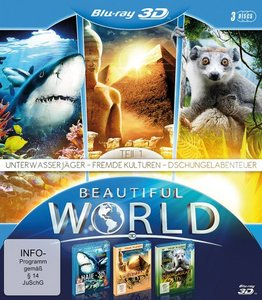 Beautiful World in 3D Vol.1-Blu-ray Disc