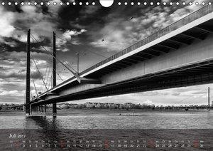 Düsseldorf Ansichten in Schwarz-Weiß