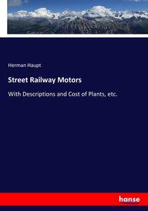Street Railway Motors
