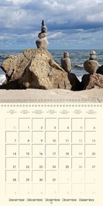 Boulders, Rocks and Stones (Wall Calendar 2015 300 × 300 mm Squa