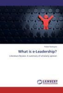 What is e-Leadership?