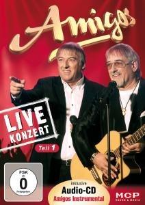 Live-Konzert-Teil 1 inkl.Audio-CD Amigos Instrumen