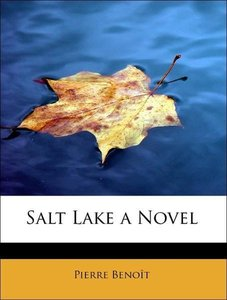 Salt Lake a Novel