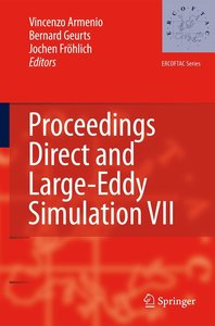 Proceedings Direct and Large-Eddy Simulation VII