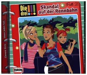 Die drei !!! 21: Skandal auf der Rennbahn (Ausrufezeichen)