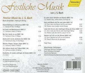 Festliche Musik Von J.S.Bach