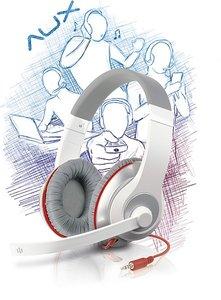 Speedlink SL-8755-WTRD AUX Stereo Headset, weiss-rot
