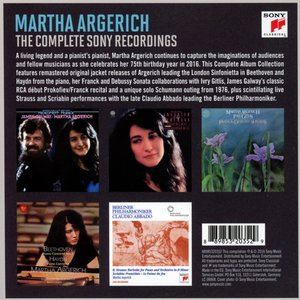 Martha Argerich-Complete Sony Classical Recordings