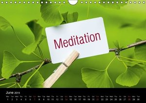 SPIRIT OF ZEN Happiness (Wall Calendar 2015 DIN A4 Landscape)