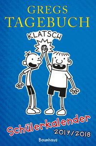Kinney, J: Gregs Tagebuch - Schülerkalender 2017/2018