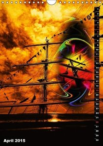 Romance of sailing (Wall Calendar 2015 DIN A4 Portrait)