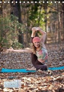 Yoga in der Natur (Tischkalender 2016 DIN A5 hoch)