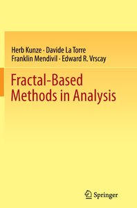 Fractal-Based Methods in Analysis