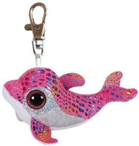 Sparkles Clip - Delfin pink, 8.5cm